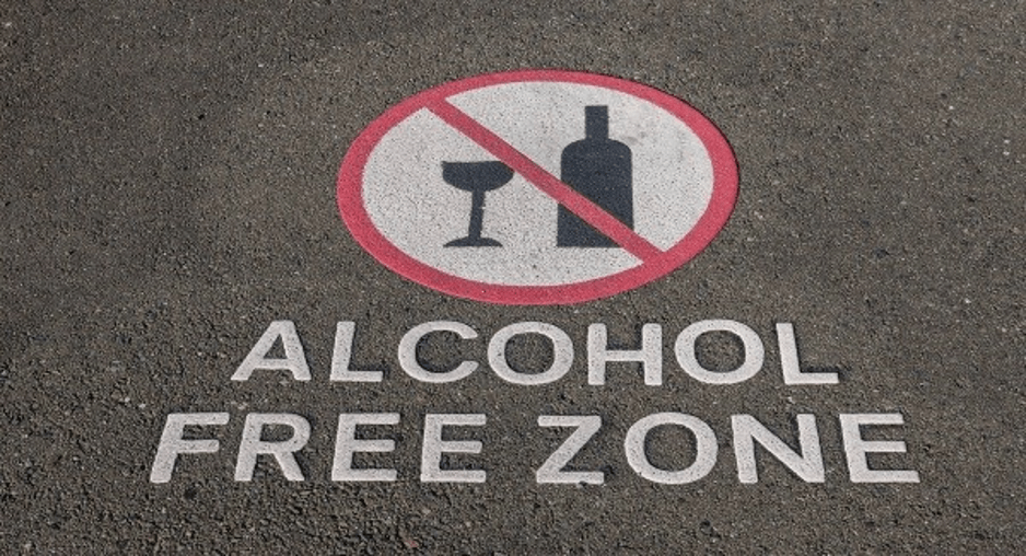 6 top tips for surviving Dry January alcohol free zone